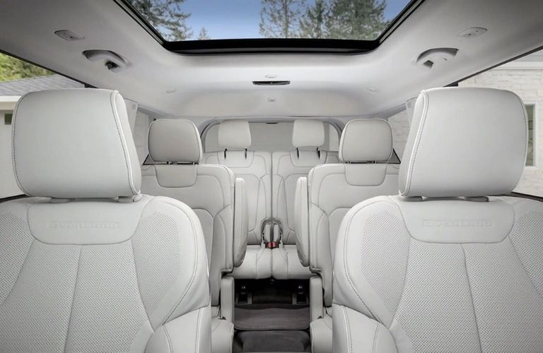 2021 Jeep Grand Cherokee L Seats - 1st, 2nd, and 3rd row