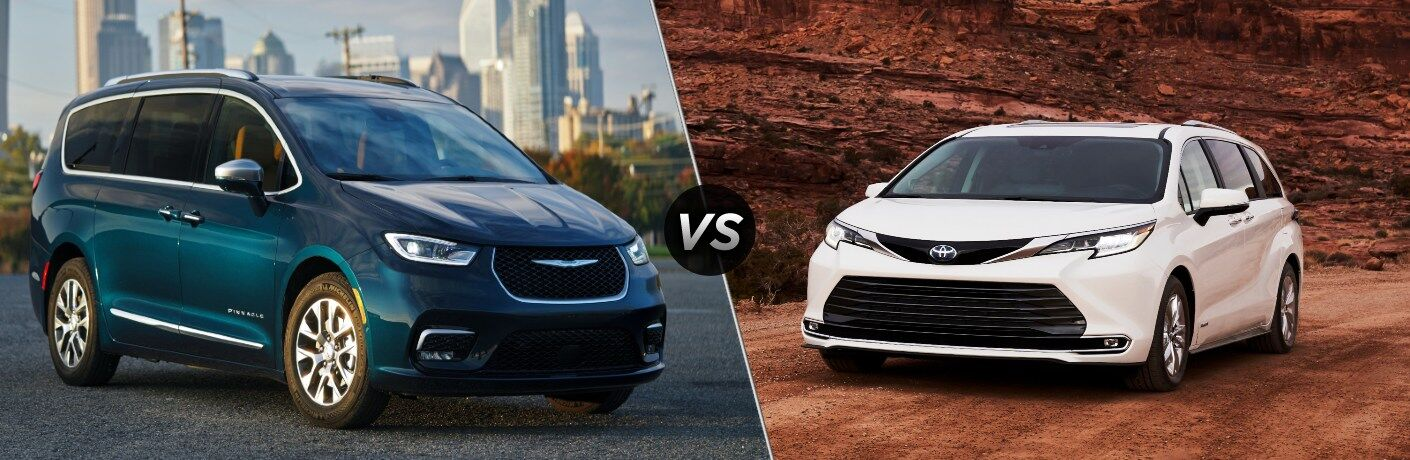 2021 Chrysler Pacifica vs 2021 Toyota Sienna