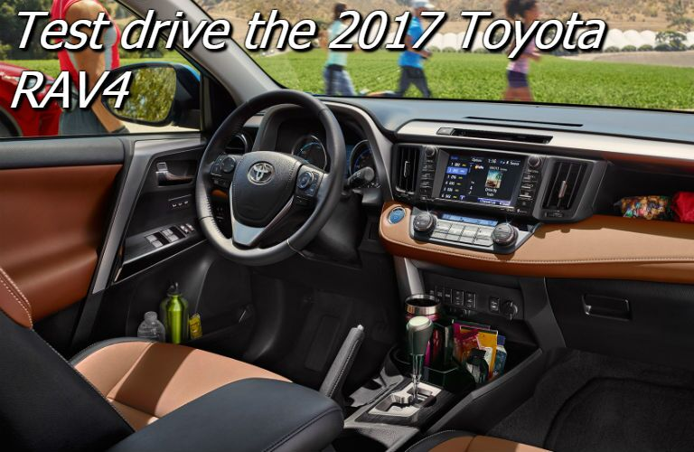 where can i test drive the 2017 toyota RAV4 in fresno ca?