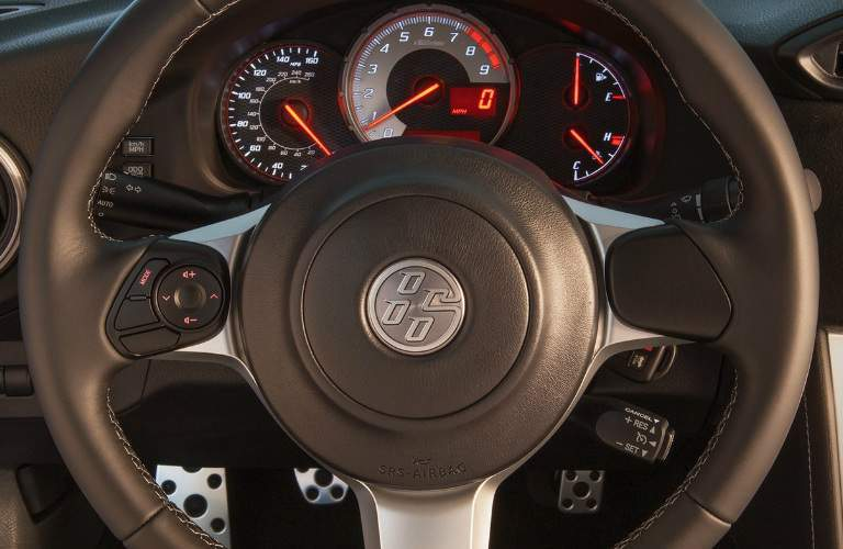 Steering Wheel and Gauges of 2018 Toyota 86