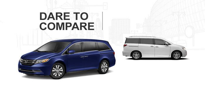 honda odyssey lx 2015 vs nissan quest s 2014 vs toyota. Black Bedroom Furniture Sets. Home Design Ideas
