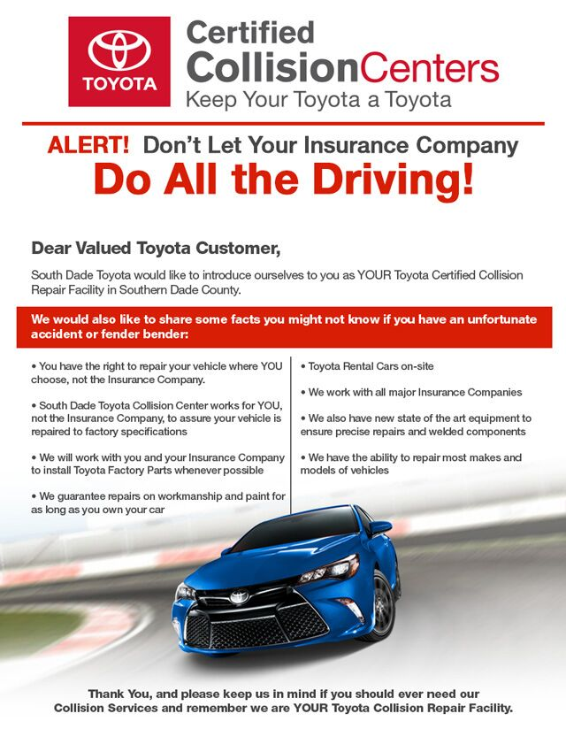South Dade Toyota Body Shop Homestead FL