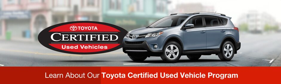 Certified Pre-Owned Toyota Vehicles Homestead FL
