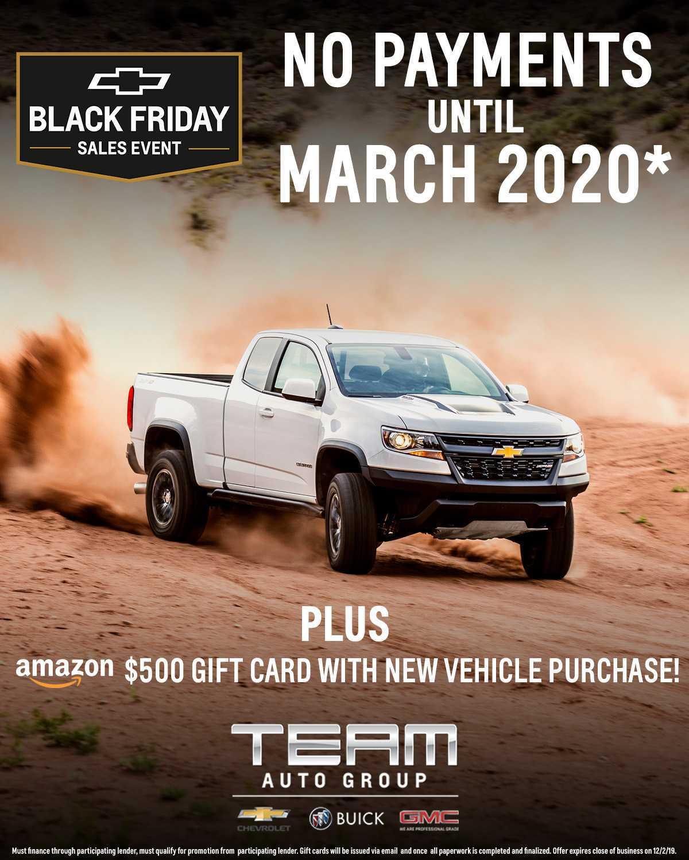 Team Auto Black Friday Special