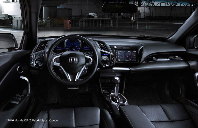 2016 Honda CR-Z vs 2016 Toyota Corolla Technology