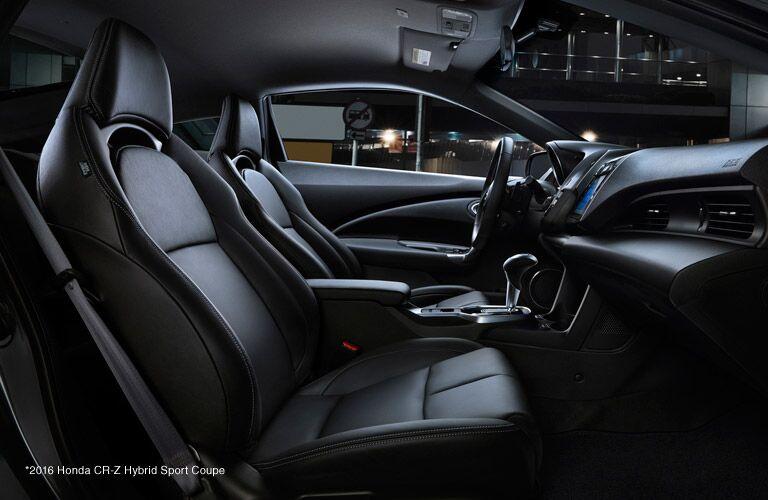 2016 Honda CR-Z vs 2016 Toyota Corolla Interior
