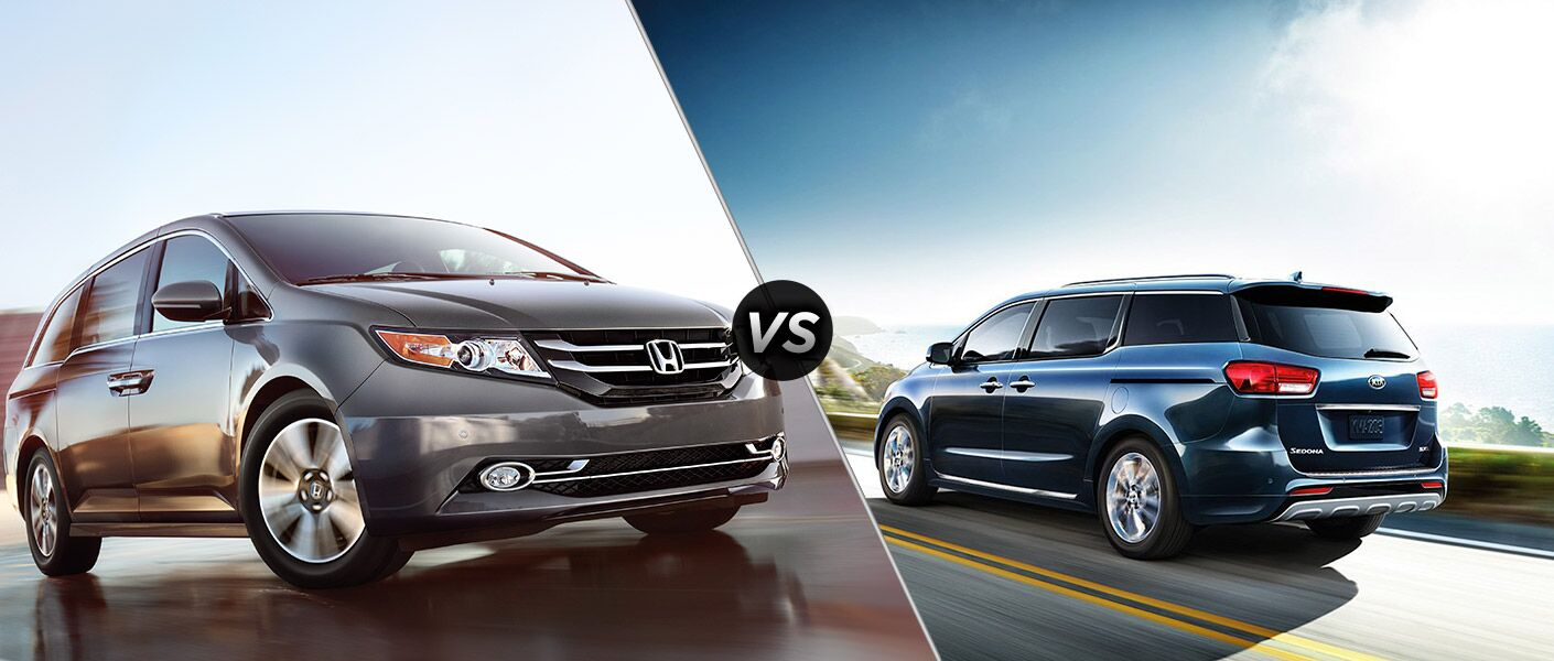 2016 Honda Odyssey vs 2016 Kia Sedona