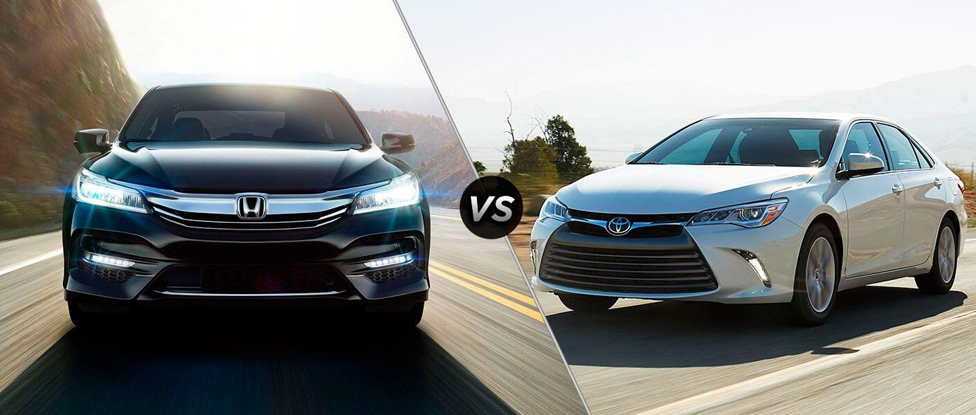 2017 Honda Accord vs 2017 Toyota Camry