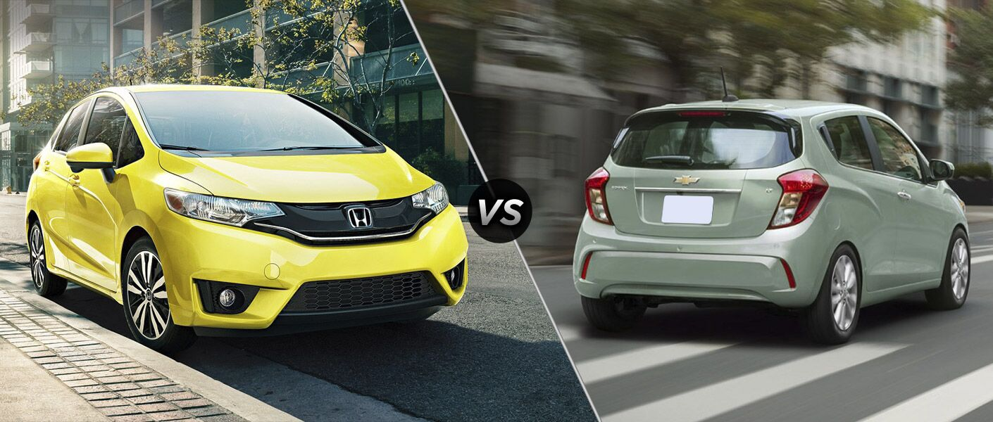 2017 Honda Fit vs 2017 Chevrolet Spark