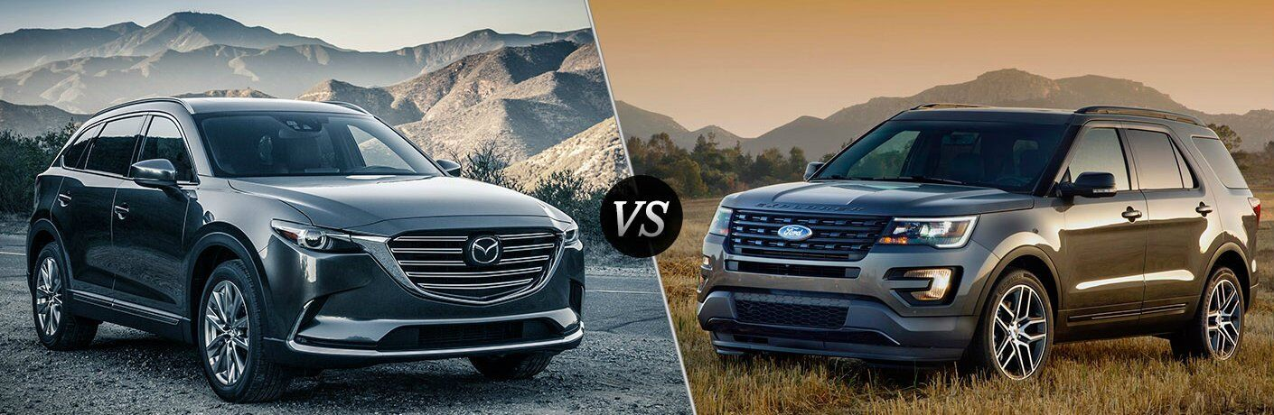 2016 mazda cx 9 vs 2017 ford explorer