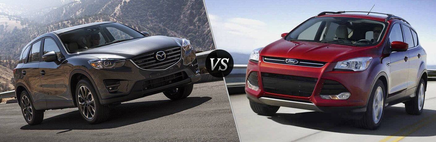 2017 Mazda CX-5 vs. 2017 Ford Escape