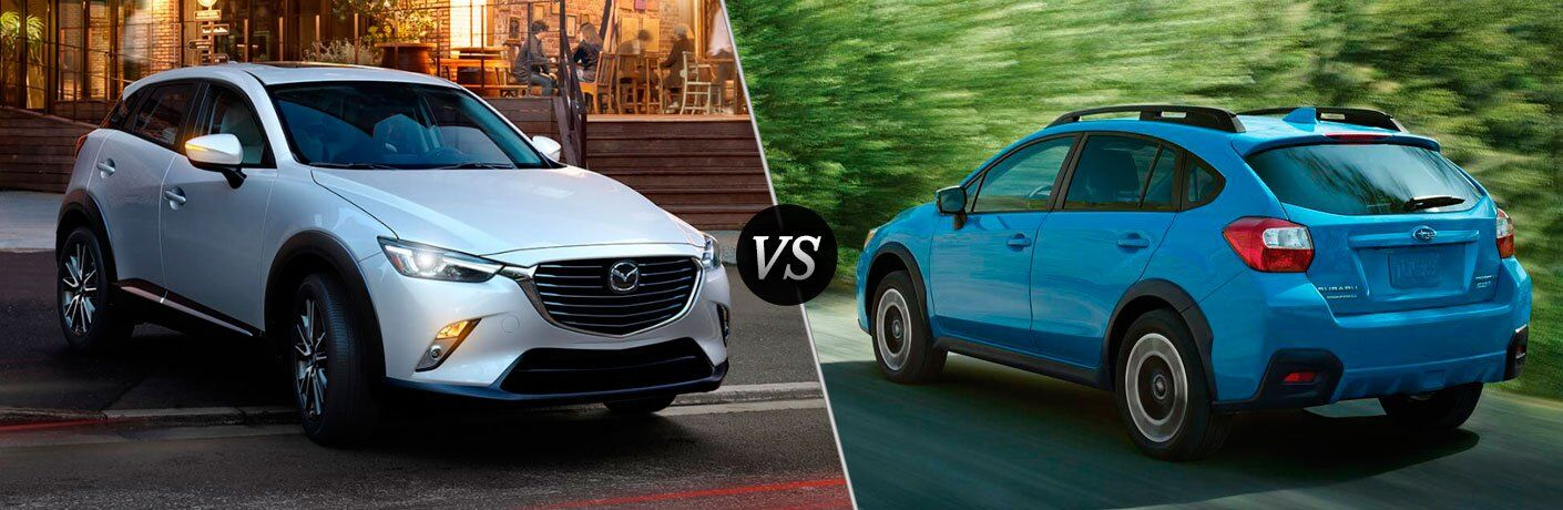 2017 Mazda CX-3 vs 2017 Subaru Crosstrek