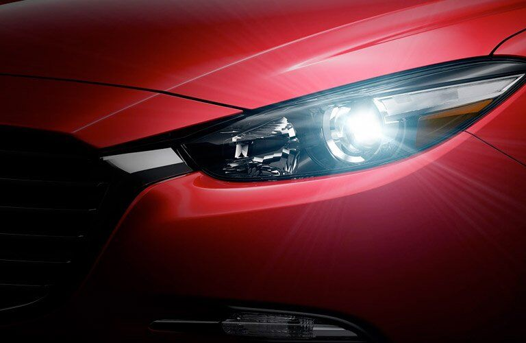 2017 Mazda3 hatchback exterior features
