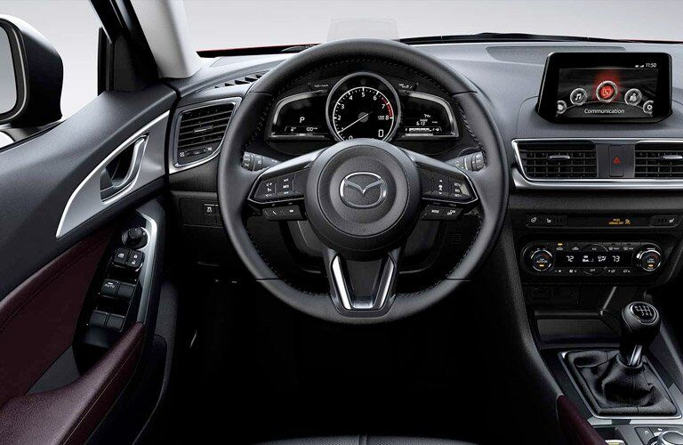 2017 Mazda3 Hatchback interior features and technology