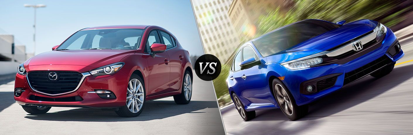 2017 Mazda3 vs 2017 Honda Civic Phoenix AZ