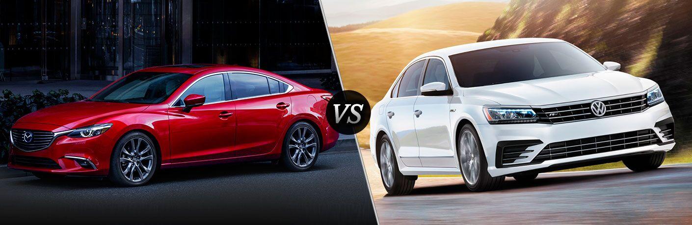 2017 Mazda6 vs. 2017 Volkswagen Passat