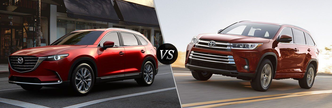 2017 Mazda CX-9 vs 2017 Toyota Highlander