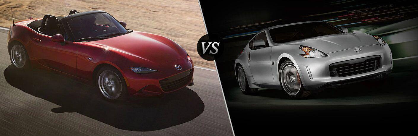 2016 Mazda Miata vs. 2017 Nissan 370Z