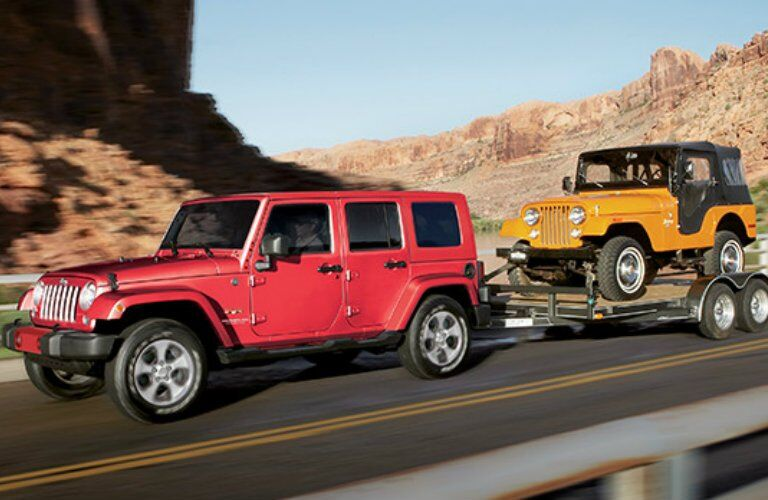 2017 Jeep Wrangler colour options