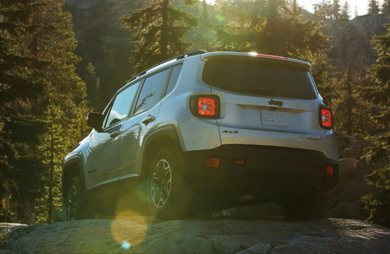 2017 Jeep Renegade off-road capability