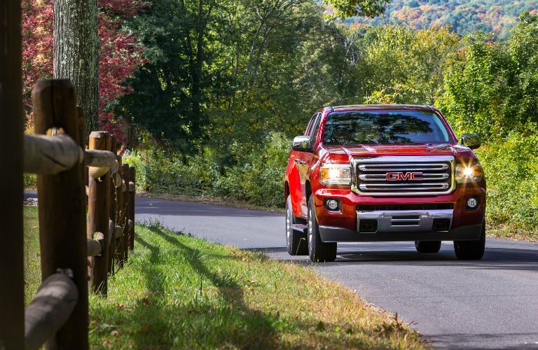 2017 GMC Canyon Exterior Front Profile