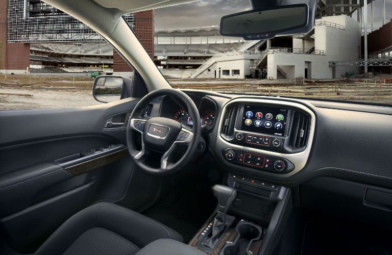 2017 GMC Canyon Interior Cabin Dashboard