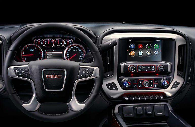 2017 GMC Sierra 3500HD Interior Dashboard