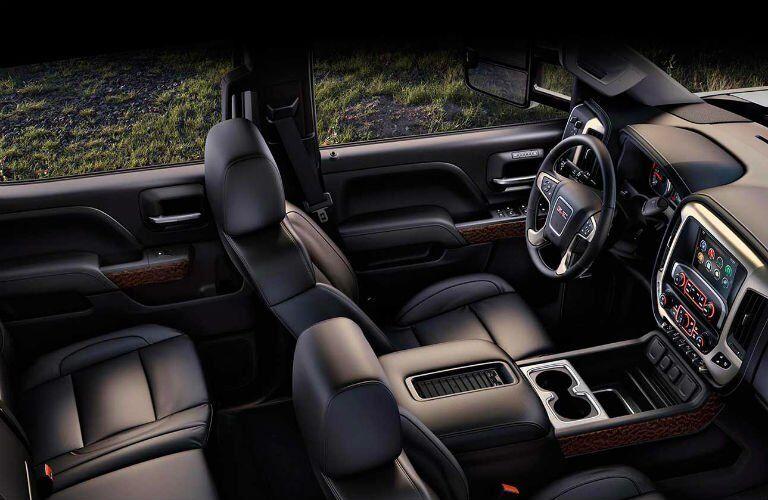 2017 GMC Sierra 3500HD Interior Cabin