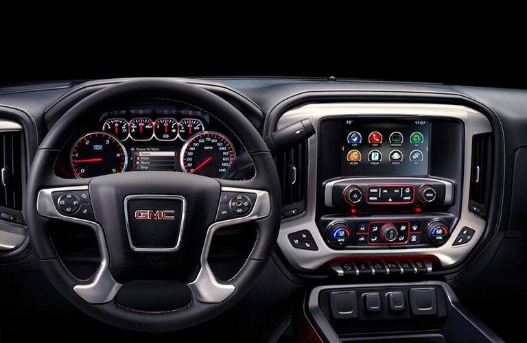 2017 GMC Sierra 2500HD Interior Cabin Dashboard