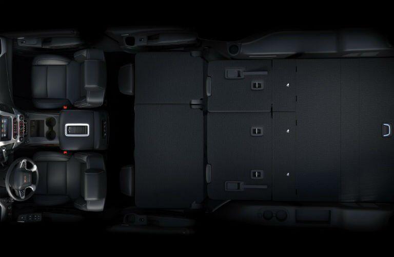 2017-GMC-Yukon-XL-Interior-Seats-Flat