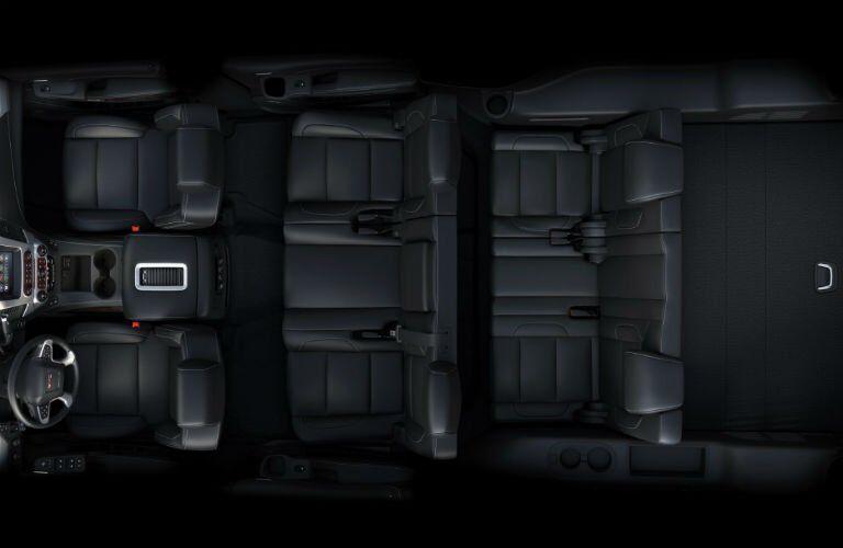 2017-GMC-Yukon-XL-Interior-Seats-Up