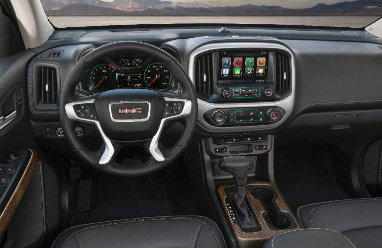 2018 gmc canyon. simple canyon 2018 gmc canyon denali interior cabin dashboard to gmc canyon