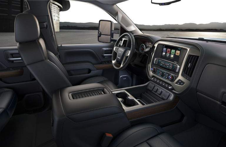 2018 gmc sierra. beautiful gmc 2018 gmc sierra 2500hd denali interior dashboard in gmc sierra