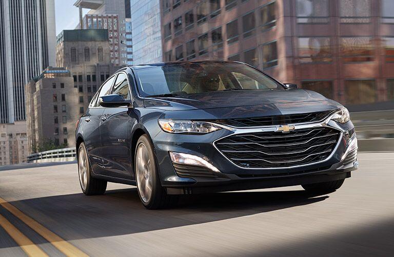 2019 Chevrolet Malibu driving down road