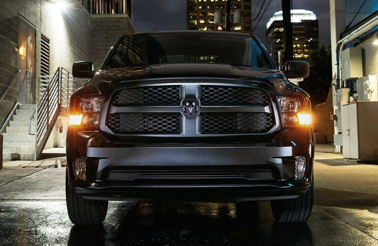 Grille Of Dodge Ram Truck