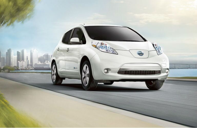 2016 Nissan LEAF electric car Palatine IL