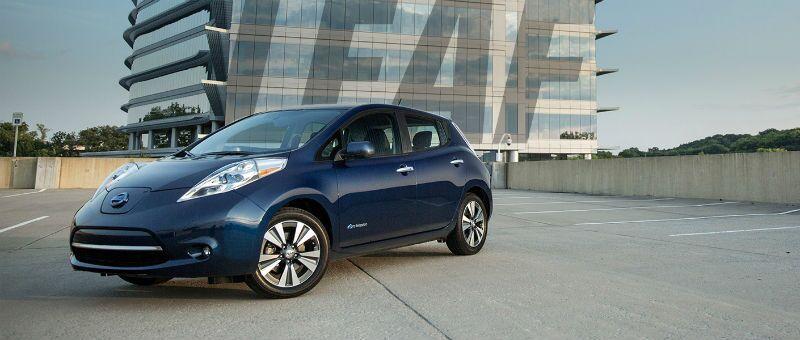 2016 Nissan LEAF electric car Schaumburg IL