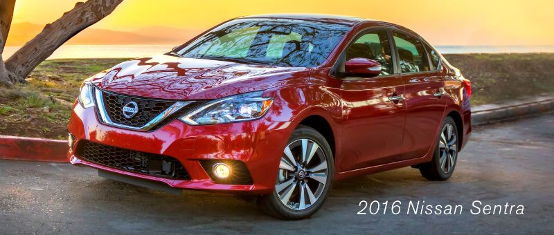 2016 Nissan Sentra 40 mpg highway compact car Palatine IL