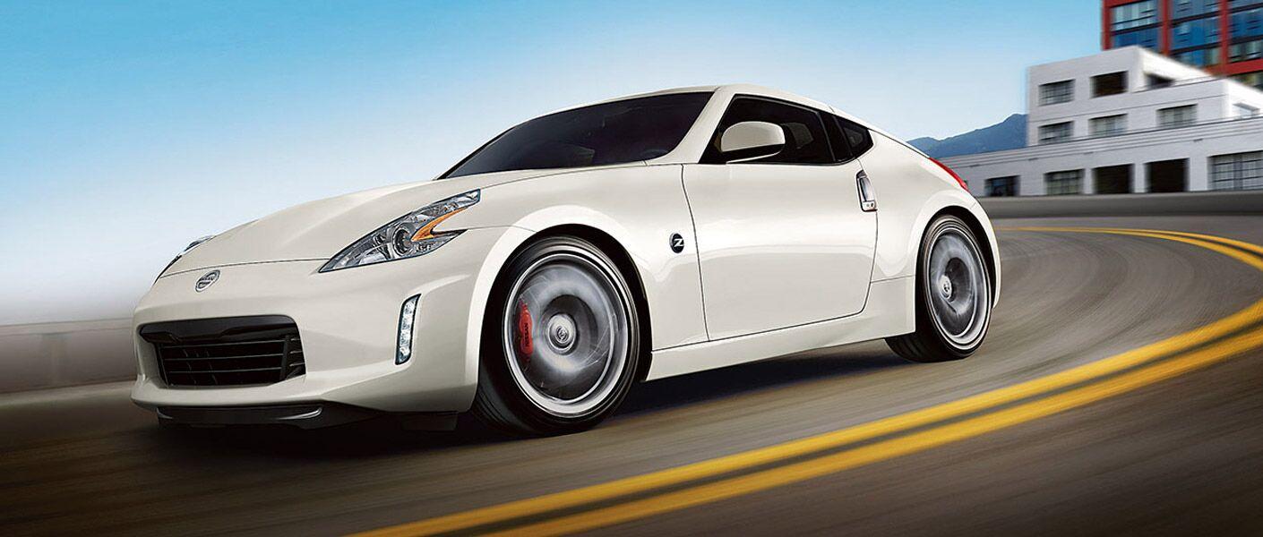 2017 Nissan 370Z White