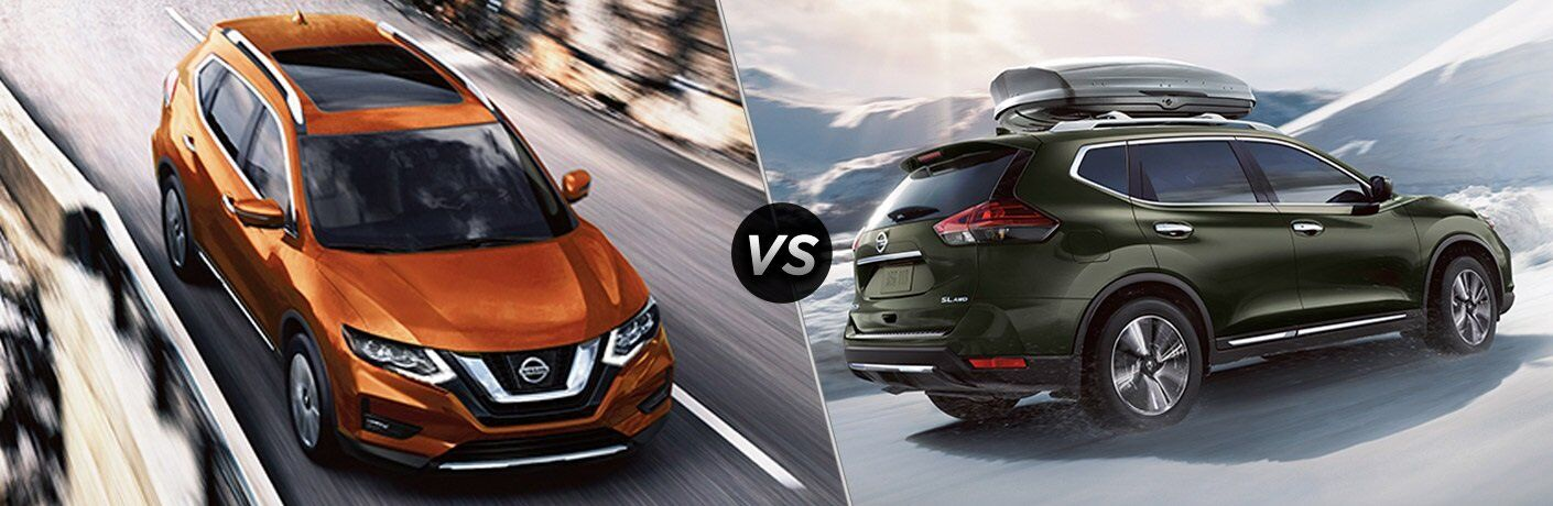 2017 Nissan Rogue vs. 2017 Rogue Hybrid Chicago IL