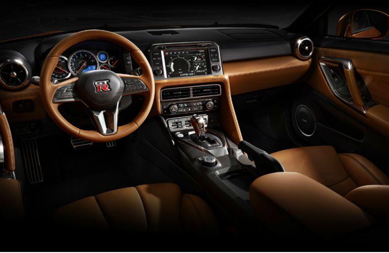 Nissan GT-R interior leather seats comfort Arlington Nissan Naperville IL