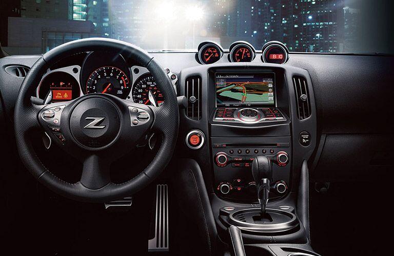 2017 Nissan 370Z Interior Navigation