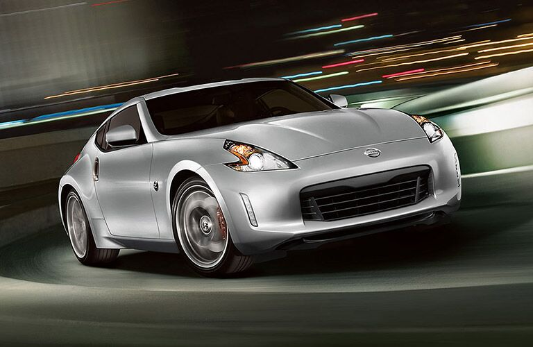 2017 Nissan 370Z Grey Front View