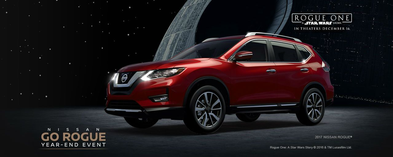 2017 Nissan Rogue crossover Star Wars Rogue One models Chicagoland IL