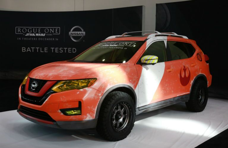 2017 Nissan Rogue X-Wing Pilot edition