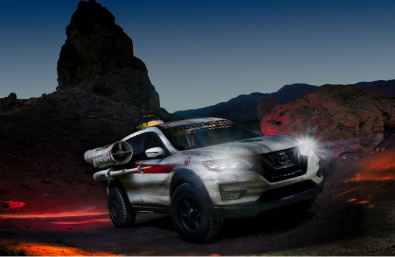 2017 Nissan Rogue X-Wing Death Trooper edition