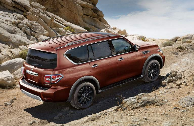 2018 Nissan Armada off-road features