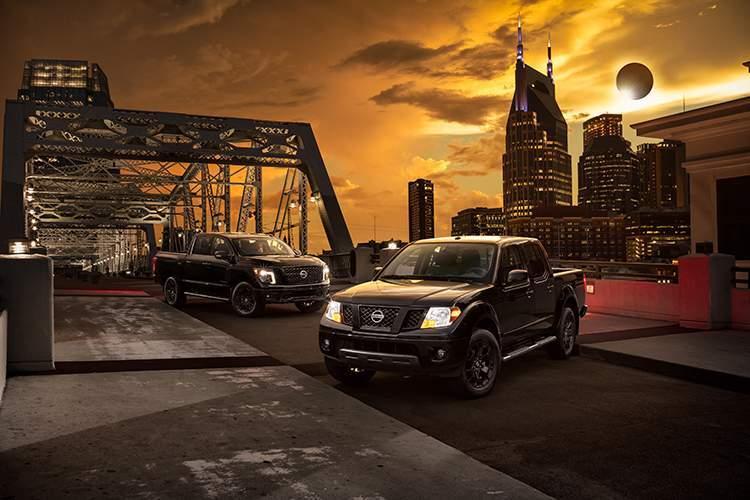 2018 Nissan Titan and 2018 Nissan Titan XD Midnight Edition
