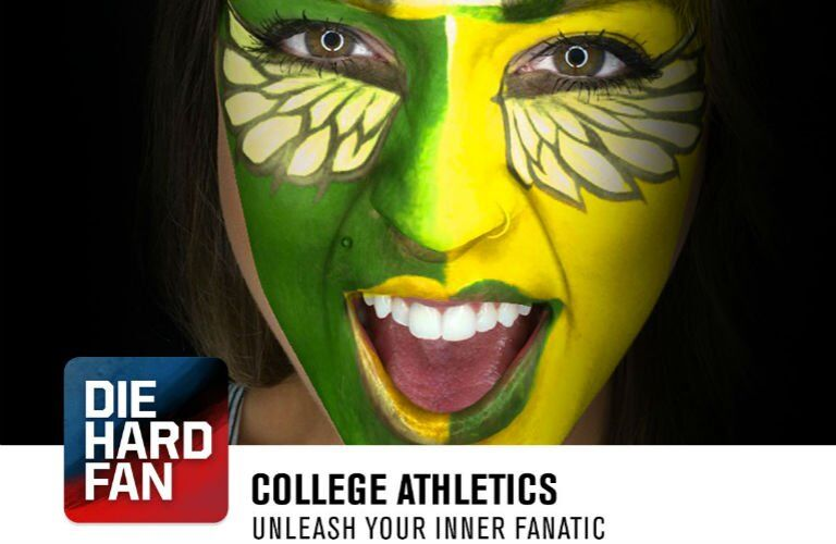 Nissan Die Hard Fan College Athletics