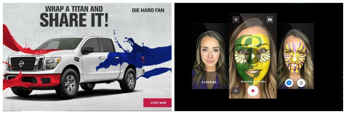 Nissan Die Hard Fan apps Titan College Athletics